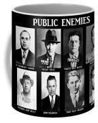 Original Gangsters - Public Enemies Coffee Mug by Paul Ward