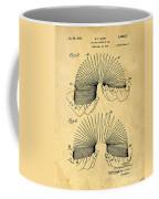 Original Slinky Toy Patent Coffee Mug