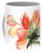Original Tulips Flowers Coffee Mug