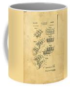 Original Us Patent For Lego Coffee Mug by Edward Fielding