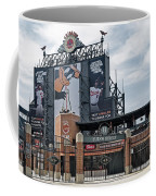 Oriole Park At Camden Yards Coffee Mug by Susan Candelario