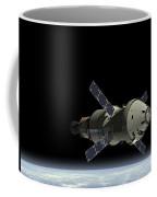 Orion Service Module Coffee Mug