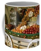 Work Hard And Be - Country Onion Cart Coffee Mug