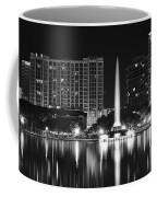 Orlando Black And White Night Coffee Mug