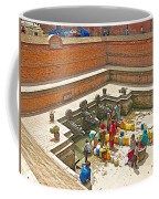Ornate Fountains With Holy Water From The Bagmati River In Patan Durbar Square In Lalitpur-nepal   Coffee Mug