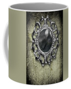 Ornate Metal Mirror Reflecting Church Coffee Mug
