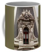 Ornate Window Of City Hall Philadelphia Coffee Mug