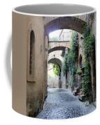 Orvieto Street With Arches Coffee Mug