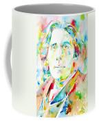 Oscar Wilde Watercolor Portrait.1 Coffee Mug
