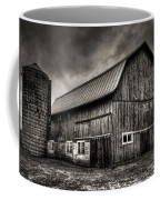 Oslo Corner In Black And White Coffee Mug by Thomas Young