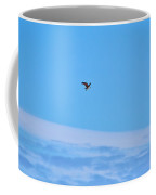 Osprey And A Pike High Over The Clouds Coffee Mug