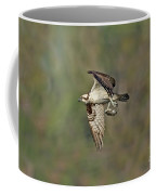 Osprey Carrying Small Fish Coffee Mug