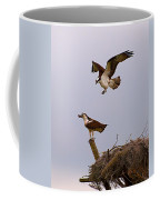 Osprey Coming In Coffee Mug