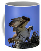 Osprey In The Nest Coffee Mug