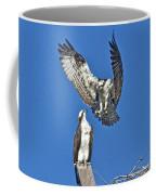 Osprey Pair Love In The Air Coffee Mug