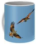 Osprey Pair Coffee Mug