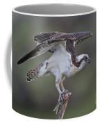 Osprey With Fish Coffee Mug