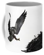 Osprey With Sushi Coffee Mug