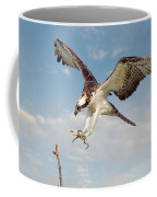 Osprey With Talons Extended Coffee Mug