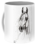 Ostragon Polish Arabian Horse 3 Coffee Mug