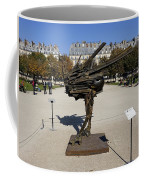 Ostrich Art At The Jardin Des Tuileries In Paris France Coffee Mug