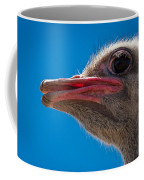 Ostrich Profile Coffee Mug