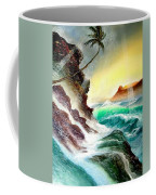 Othere Side Of Diamondhead Waikiki Hawaii Coffee Mug