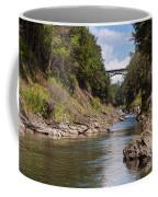 Ottauquechee River Flowing Through The Quechee Gorge Coffee Mug