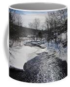 Otter Brook Scene Coffee Mug