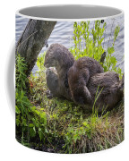 Otter Family Fun Coffee Mug