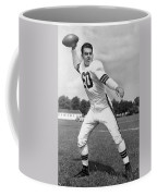 Otto Graham Nfl Legend Poster Coffee Mug by Gianfranco Weiss