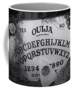 Ouija Board Queen Mary Ocean Liner Bw Coffee Mug