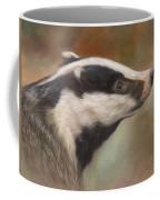 Our Friend The Badger Coffee Mug