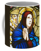Our Lady Of Sorrows In Stained Glass Coffee Mug