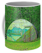 Our Lady Of The Way Quonset Hut Chapel In Haines Junction-yt Coffee Mug