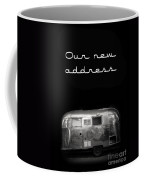 Our New Address Announcement Card Coffee Mug