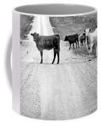 Our Way Or The Highway Bw Coffee Mug