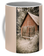 Out By The Woodshed Coffee Mug by Edward Fielding