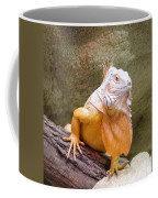Out Of Africa Orange Lizard 1 Coffee Mug