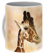 Out Of Africa's Giraffe Coffee Mug