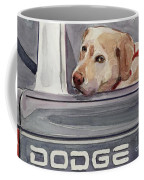 Out Of Dodge Coffee Mug by Molly Poole