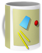 Out Of Square Coffee Mug by Richard Rizzo