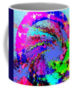 Out Of The Blue Wave Abstract Coffee Mug