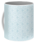 Out Of The Box Blue And White Pattern Coffee Mug