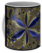 Out Of The Negative Into The Blue Flower Coffee Mug