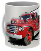 Out Of The Photo Fire Truck Coffee Mug