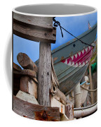 Out Of The Water - There's A Shark Coffee Mug