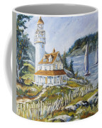 Out To Sea By Prankearts Coffee Mug