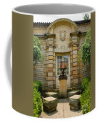 Outdoor Benches At Sewickely Pennsylvania Library Coffee Mug
