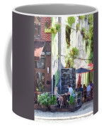 Outdoor Cafe Philadelphia Pa Coffee Mug